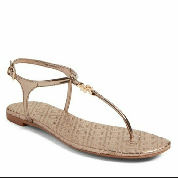 NEW Tory Burch Marion Quilted Sandals 6.5